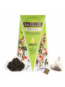 "Bouquet - ""White Magic"" Milk Oolong Tea (Pyramid Tea Bags)"