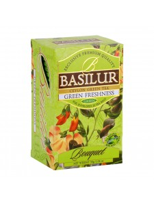 "Bouquet - ""Green Freshness"" Mint Green Tea (Sachets)"