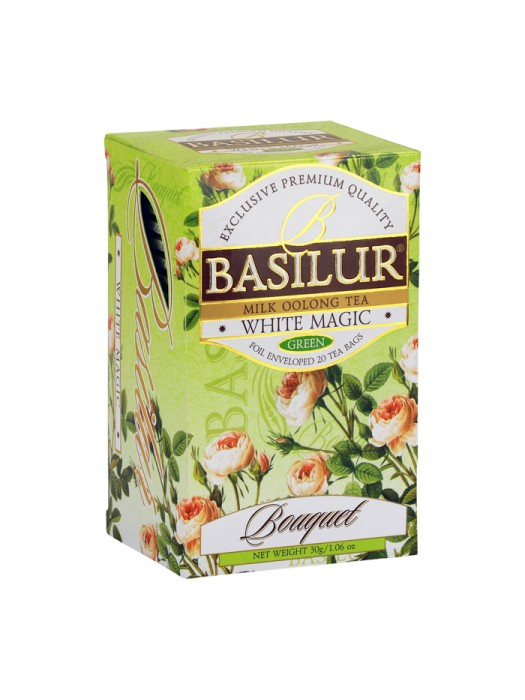 "Bouquet - ""White Magic"" Milk Oolong Tea (Sachets)"