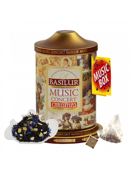"Music Concert - ""Christmas"" (Pyramid Tea Bags)"