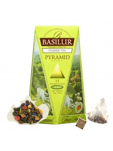 "Four Seasons - ""Summer"" Wild Strawberry Green Tea (Pyramid Tea Bags)"