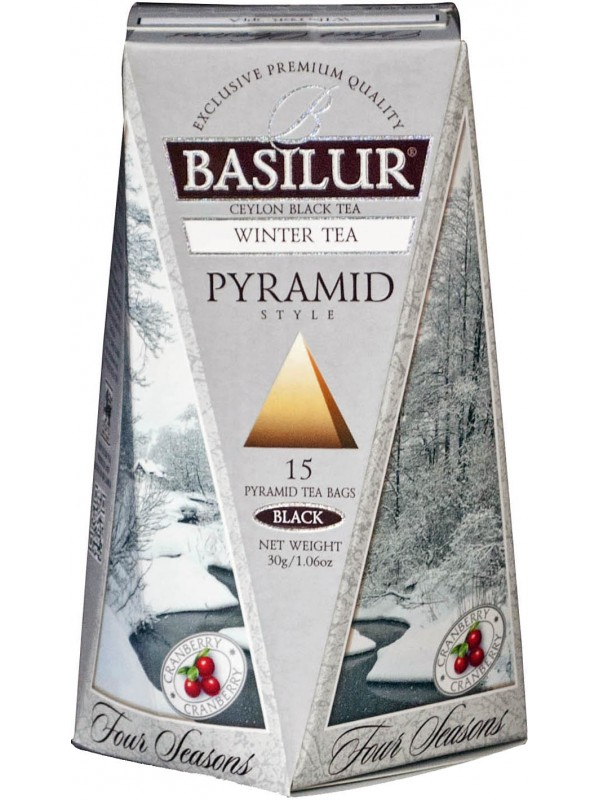 "Four Seasons - ""Winter"" (Pyramid Tea Bags)"