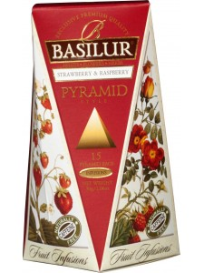 "Fruit Infusions - ""Strawberry & Raspberry"" (Pyramid Tea Bags)"