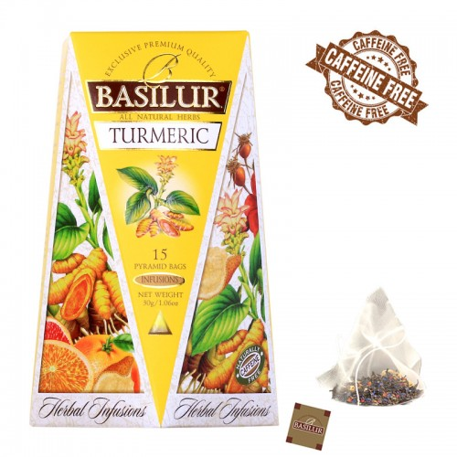 "Herbal Infusions - ""Turmeric"" (Caffeine-free)"