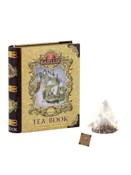 "Tea Book - ""Miniature Volume II"" (Pyramid Tea Bags)"