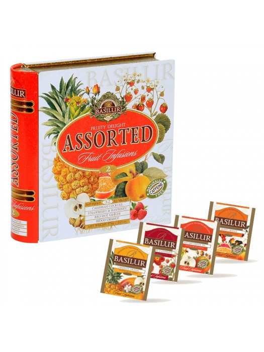 "Book Collection - ""Caffeine-free Fruit Infusions Fruity Delight"" (Sachets)"
