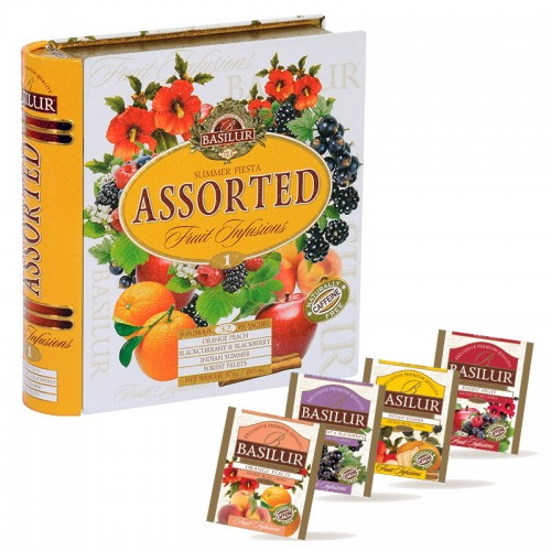 "Book Collection - ""Caffeine-free Fruit Infusions Summer Fiesta"" (Sachets)"