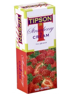 Tipson Fruit Tea - Strawberry & Cream (Tea Bags)