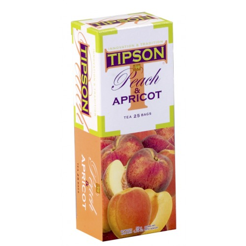 Tipson Fruit Tea - Peach & Apricot (Tea Bags)