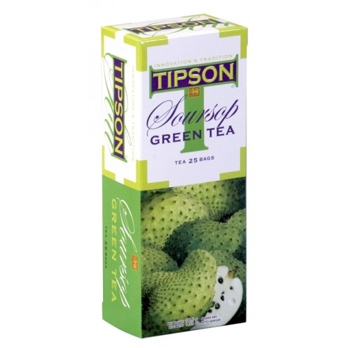Tipson Fruit Tea - Soursop Green (Tea Bags)