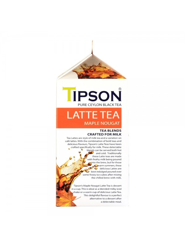 Tipson Latte Tea - Maple Nougat (Tea Bags)