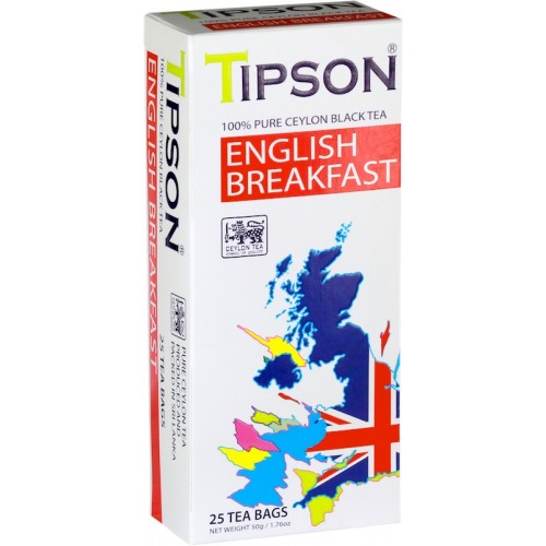 Tipson Classics - English Breakfast (Tea Bags)