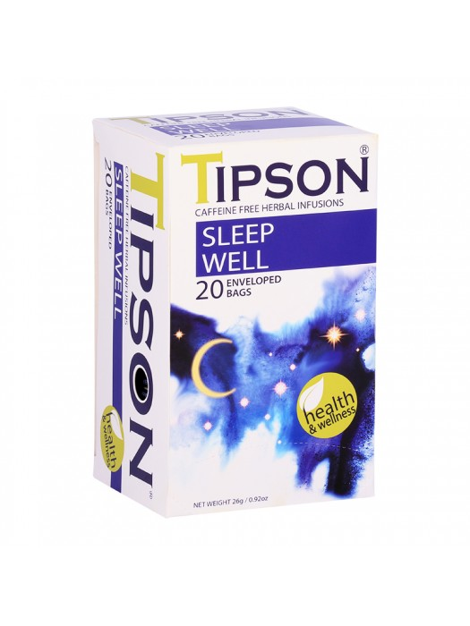 Tipson Health & Wellness - Sleep Well (Tea Bags)